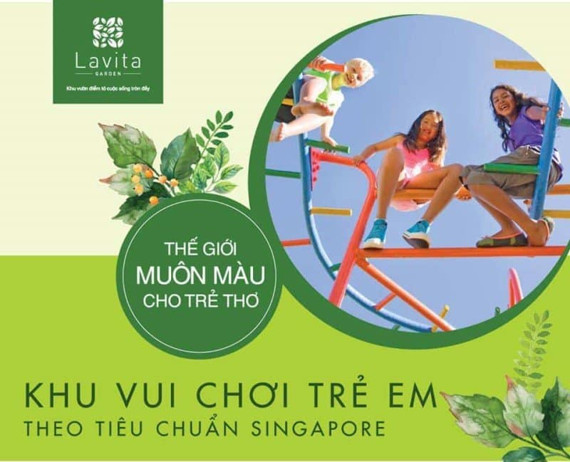 Khu vui chơi trẻ em chuẩn Singapore