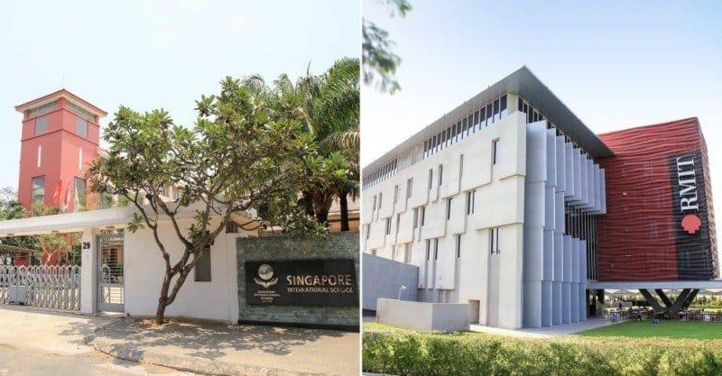Trường quốc tế Singapore và trường đại học Rmit