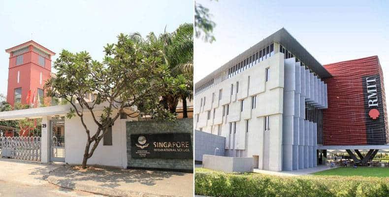 Liền kề trường đại học Rmit và trường quốc tế Singapore