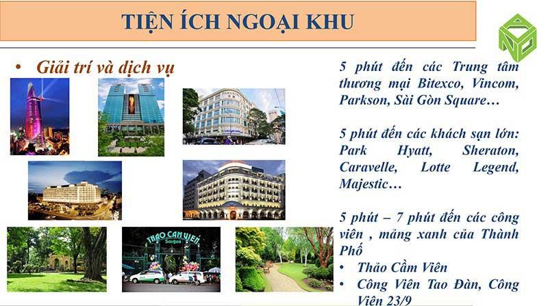 Tiện ích ngoại khu Saigon Royal