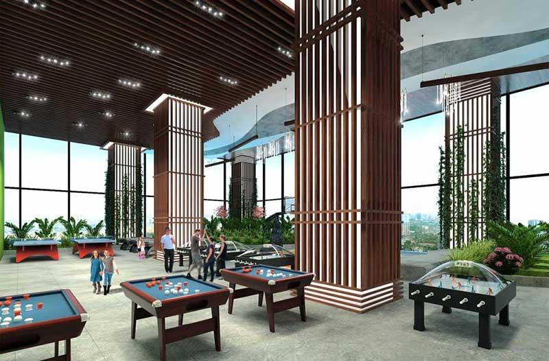 Sảnh Lounge Sunshine City Saigon