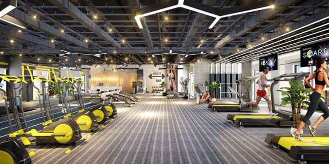 Phòng Gym Sunshine City Saigon