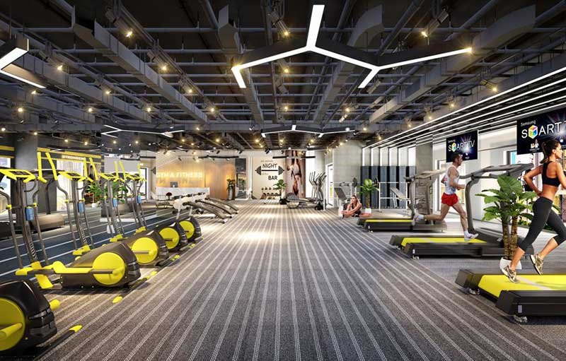 Phòng Gym Sunshine City Saigon