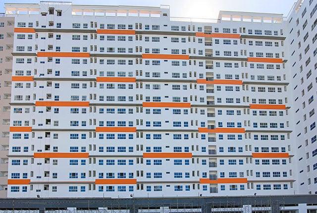 Hình ảnh thi công 9 View Apartment ngày 12/11/2018