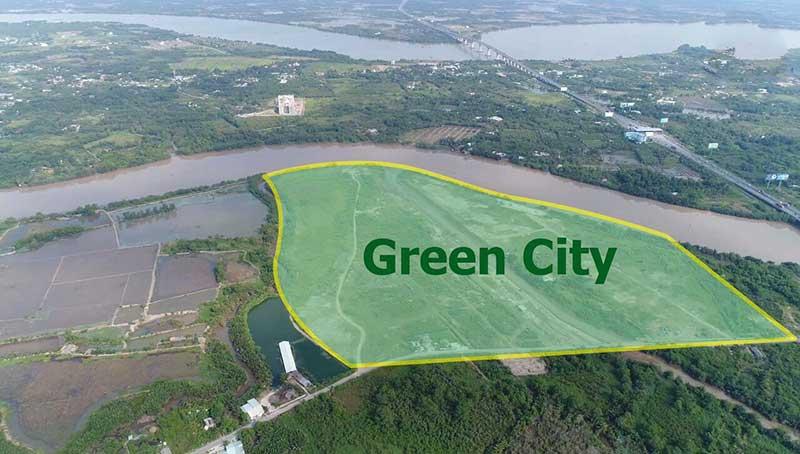 Vị trí căn hộ Green City