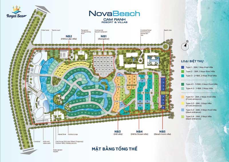 Mặt bằng Nova Beach