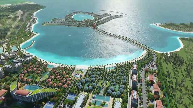 Ocean Lotus Island