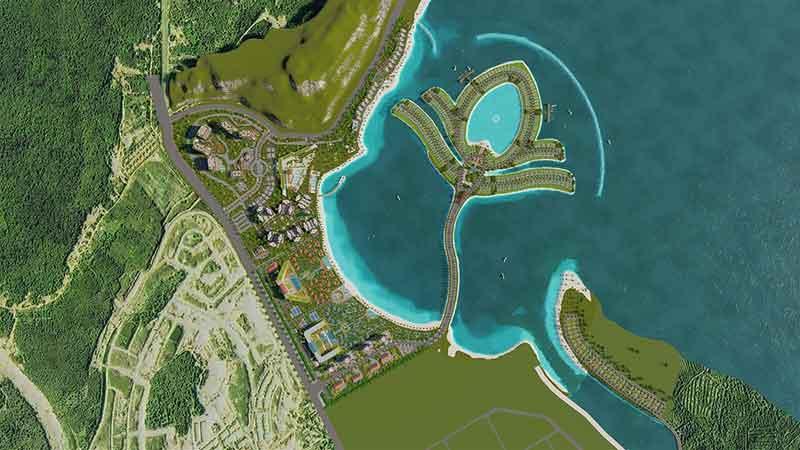 Mặt bằng Ocean Lotus Island