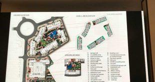 Mặt bằng tổng thể Palace Residence
