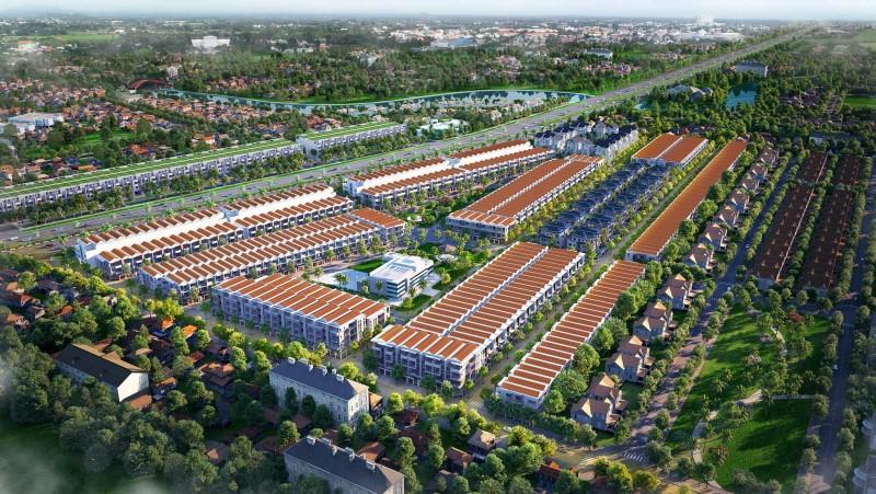 Phối cảnh tổng thể dự án Baria City Gate