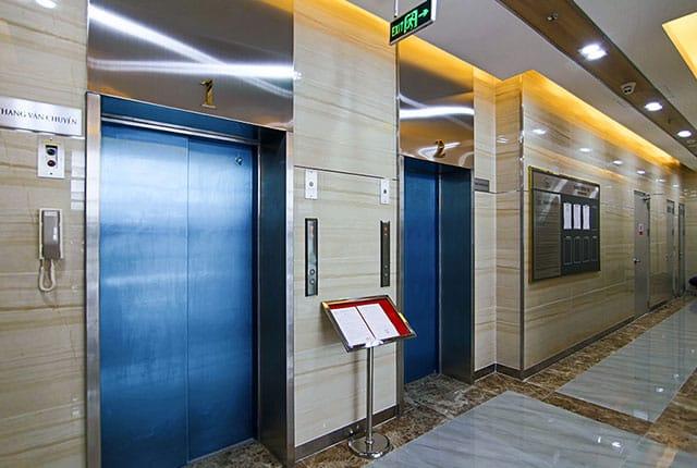 Hệ thống thang máy Moonlight Park View