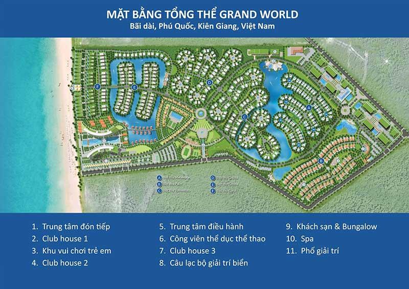 Mặt bằng Căn hộ Grand World