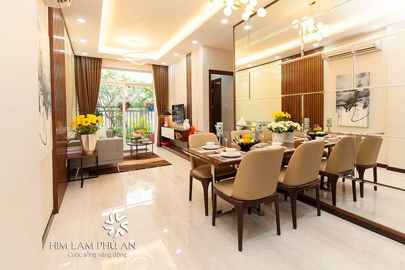 Căn hộ mẫu Him Lam Phú An
