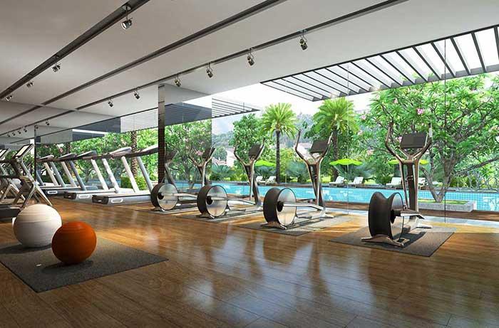 Phòng tập Gym Raemian City