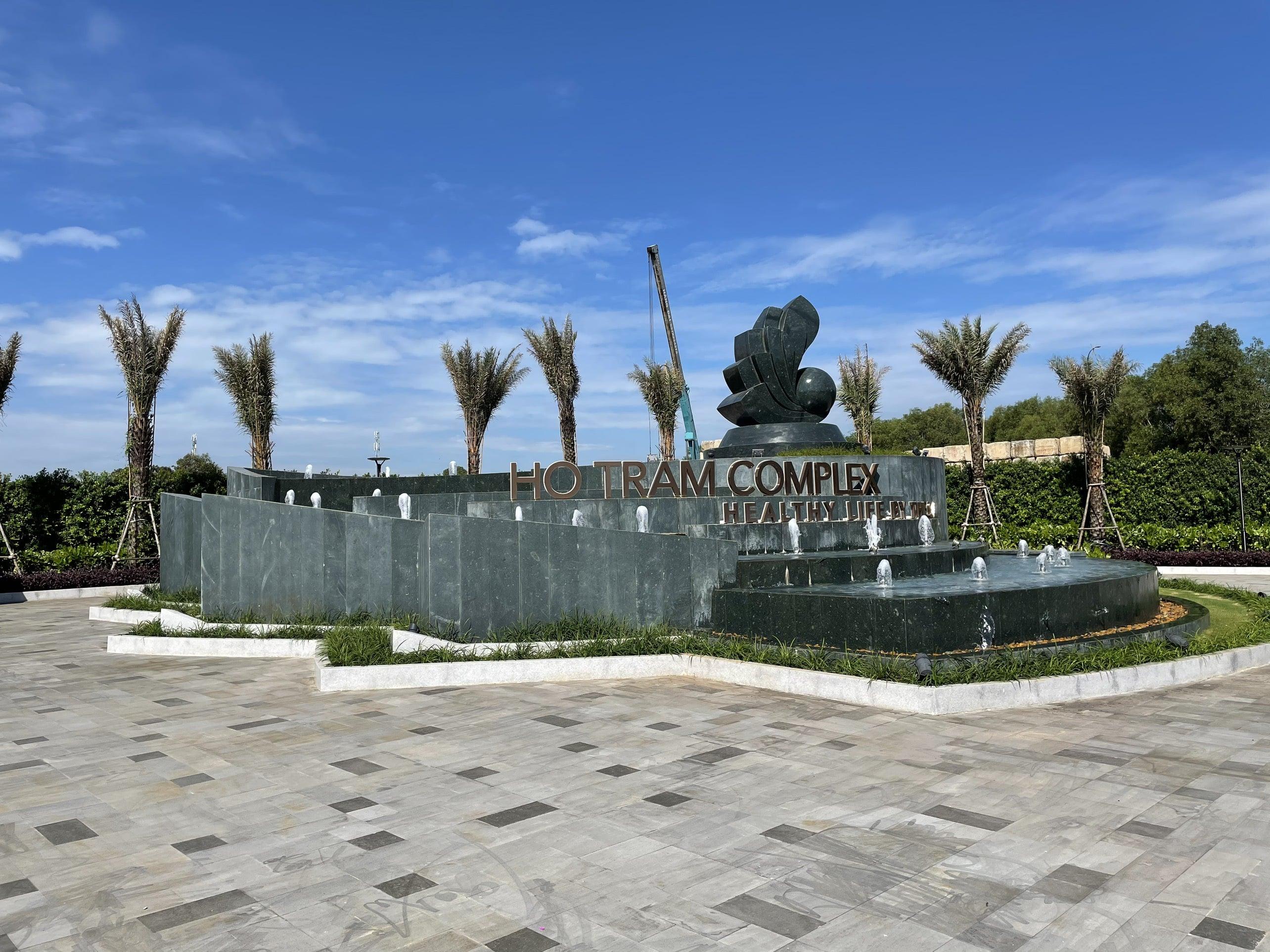 Tiến độ xây dựng Hồ Tràm Complex