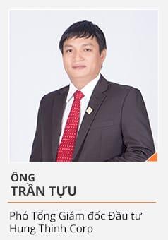 Ông TRẦN TỰU (Phó Tổng Giám đốc Đầu tư Hưng Thịnh Corp)