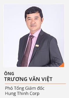 Ông TRƯƠNG VĂN VIỆT (Phó Tổng Giám đốc Hưng Thịnh Corp)