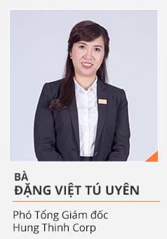 Bà ĐẶNG VIỆT TÚ UYÊN (Phó Tổng Giám đốc Hưng Thịnh Corp)