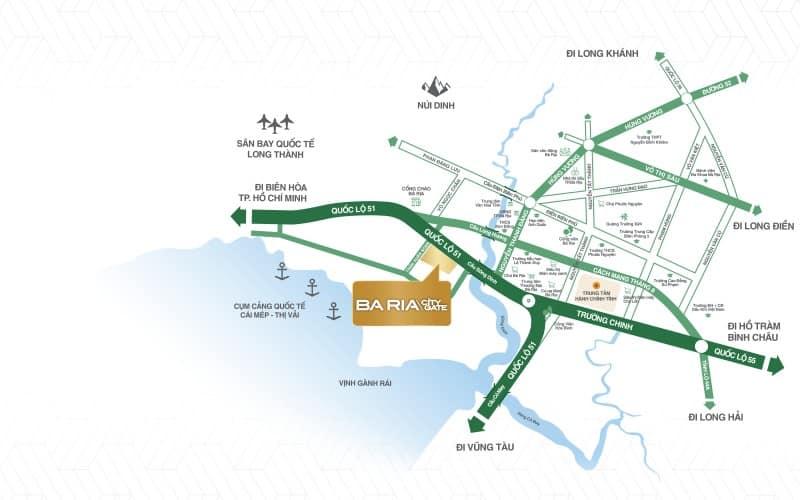 baria city gate