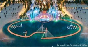 Bến du thuyền – khu nhạc nước lớn nhất Việt Nam