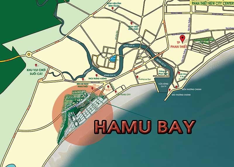 Vị trí Hamubay Phan Thiết