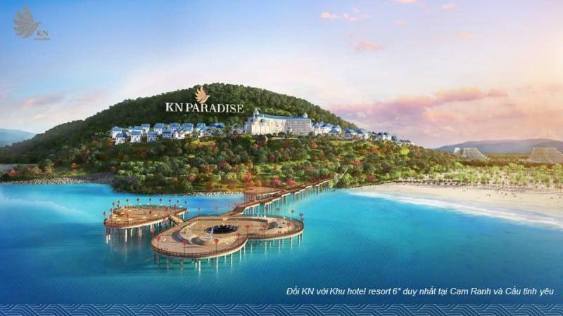 Đồi KN với Khu hotel resort 6* duy nhất tại Cam Ranh và Cầu tình yêu