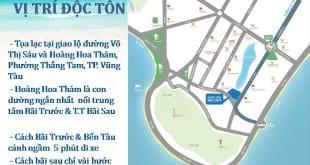 Vi tri doc ton cua Vung Tau Melody
