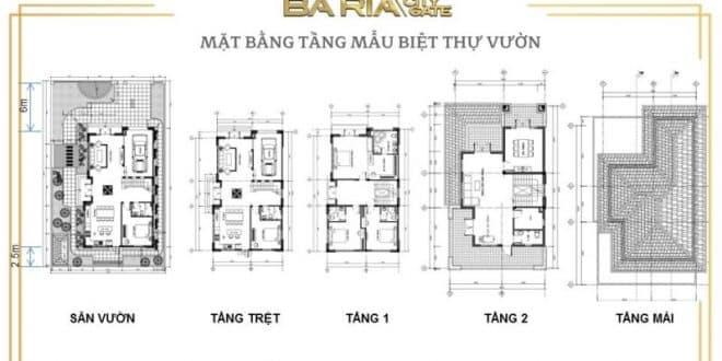 mat bang tang mau biet thu baria city gate