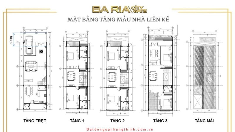 mat bang tang mau nha lien ke baria city gate