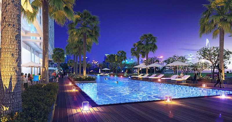 Hồ bơi Opal Saigon Pearl