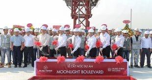Hình ảnh Lễ cất nóc dự án Moonlight Boulevard ngày 29/1/2019