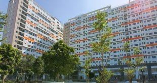 Hình ảnh tổng thể khu căn hộ