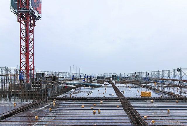 hình ảnh xây dựng Moonlight Boulevard ngày 04/01/2019