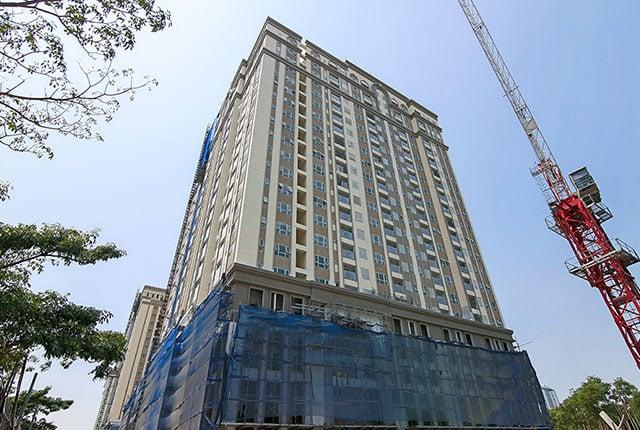 Tiến độ xây dựng Saigon Mia ngày 03/03/2019