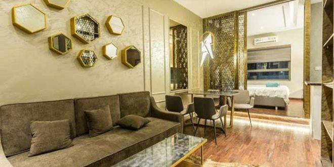 căn hộ mẫu Golden Mansion