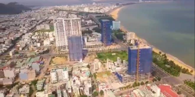 Các hướng view dự án căn hộ Condotel Quy Nhơn Melody