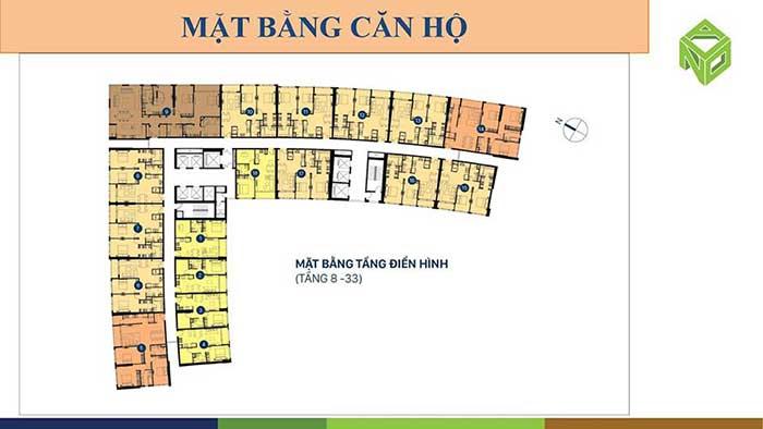 Mặt bằng căn hộ Saigon Royal