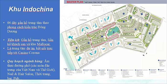 Mặt bằng Shophouse Casino Phú Quốc