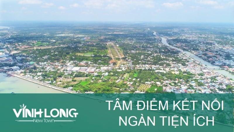 Phối cảnh dự án Vĩnh Long New Town