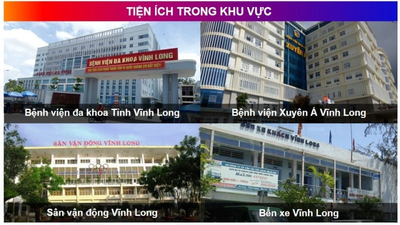 tien ich vinh long new town