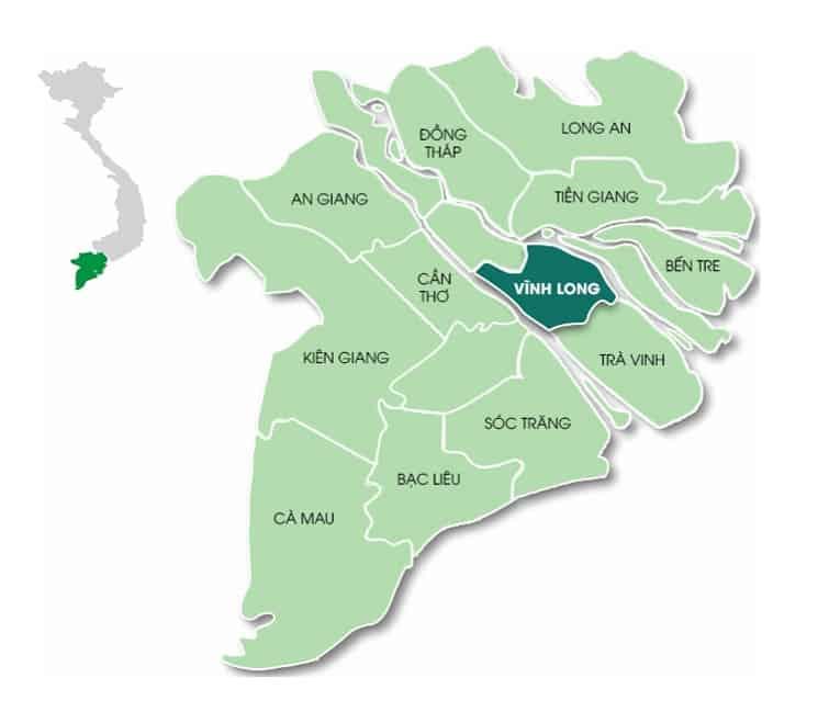 Vĩnh Long là trung tâm của Đồng Bằng Sông Cửu Long