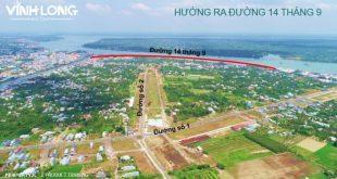 Hình ảnh dự án đất nền Hưng Thịnh tại Vĩnh Long vào thời điểm hiện tại