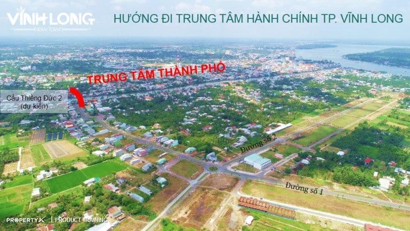 Góc nhìn thực tế từ dự án VLNT về trung tâm thành phố Vĩnh Long