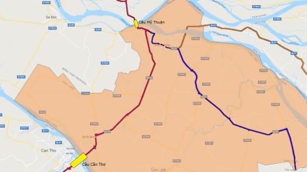 Vĩnh Long Sở hữu 2 cây cầu lớn nhất Đồng Bằng Sông Cửu Long