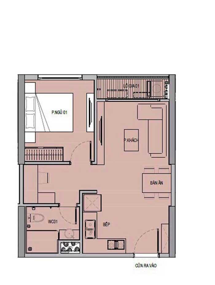 Mặt bằng căn hộ Vinhomes Sapphire