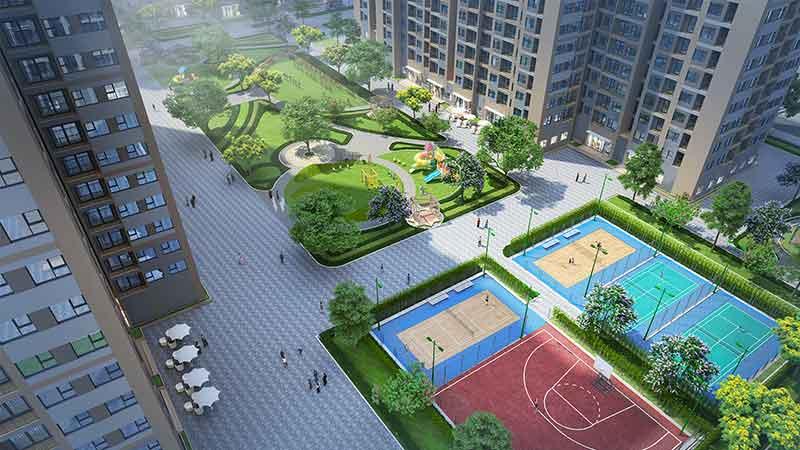 Tiện ích nội khu cho dự án Vinhomes Grand Park