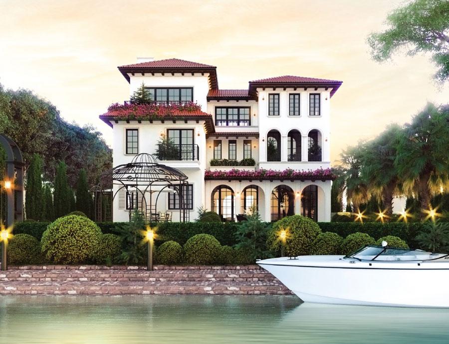 Phối cảnh biệt thự ven sông Saigon Garden Riverside