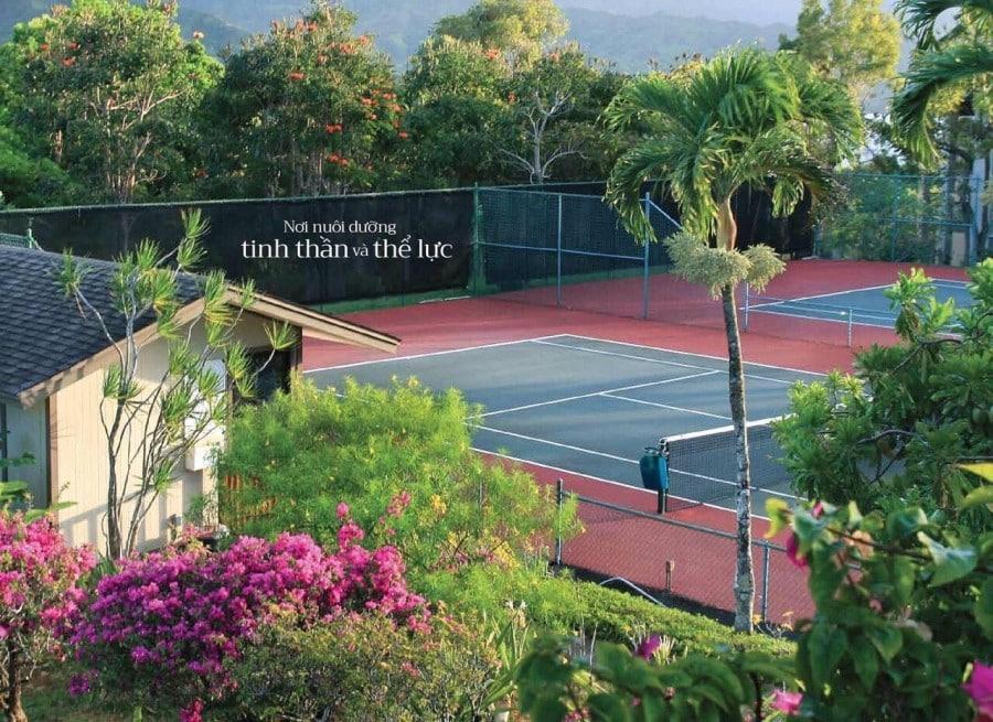 Tiện ích sân Tenis