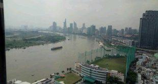 View nhìn từ căn hộ Sunwah Pearl