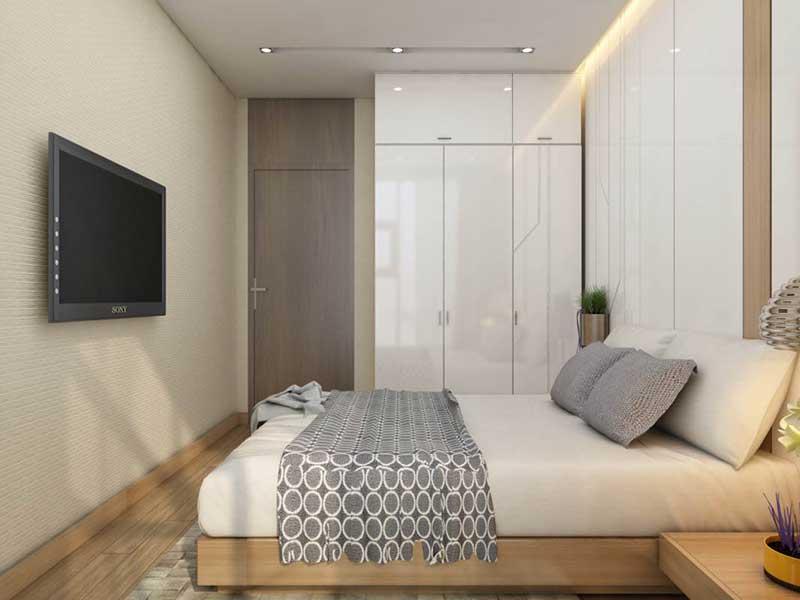 Phòng ngủ Master Sunwah Pearl